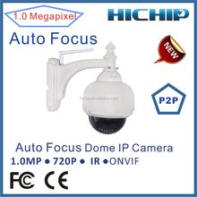 1MP 720P pan tilt zoom wifi ip camera outdoor with 15m ir night vision, 2.8-12mm varifocal lens