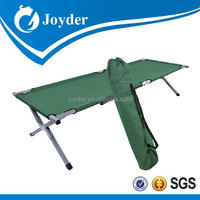 2014High Quality Aluminum Folding Cot Camping Bed