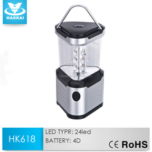 Excellent Triangle 24 LED Light camping lantern With OEM Service
