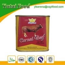Supply Corned Beef in Tin Food Packaging