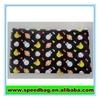 Black PVC zipper pouch bag school office stationery product pencil bag