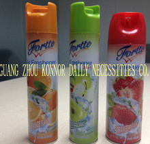 Hot-selling Aerosol Air Freshener lemon scented canned air freshener