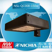 free samples 150w led area light dlc ul cul listed roadway lighting led shoebox light