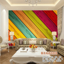 To bring the rainbow back to your house wallpaper for printing colorful soundproof wallpaper for interior decor wood texture