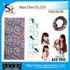 Wholesale multifunctional seamless sublimation rainbow tie dye bandana