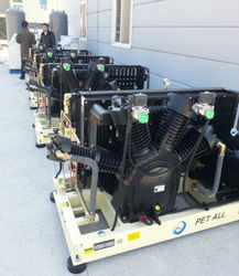 high pressure air compressor for blowing machine