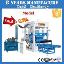 concrete blocks making machine QT4-15B concrete hollow block mold for sale
