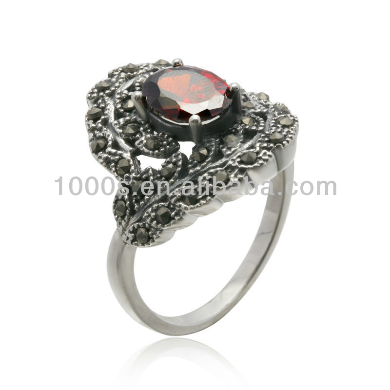 Fashion Jewelry Antique Style Thai Silver Ring View Fashion Jewelry Antique Style Silver Ring