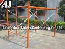 South American Type Ladder Frame Scaffolding for building construction(made in Guangzhou,China)