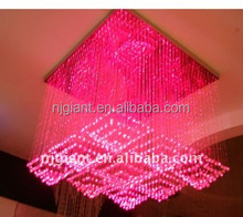 pmma multicolor plastic optic fiber lighting