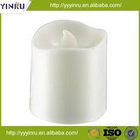 Pillar plastic electric decoration led candle, flameless led light