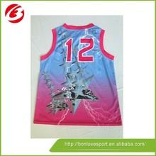 High Quality Youth Basketball Jerseys