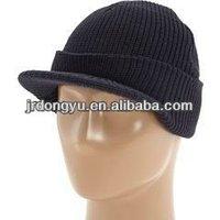 fashion mens plain knitted baseball hat pattern