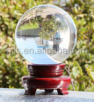large glass balls with base crystal sphere for Desktop Souvenirs