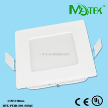 Ultra-thin led panel light housing, surface mounted led ceiling panel light