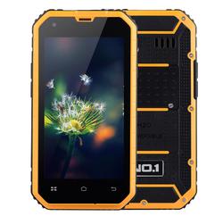 "NO.1 M2 4.5"" Android 5.0 Quad-Core MTK6582 Waterproof Smartphone w/ 1GB RAM, 8GB ROM - Orange"