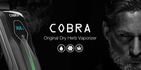 High quality wholesale free sample free shipping dry herb vaporizer kit disposable ecigarette cobra vaporizer