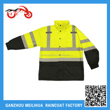 Fluoscent yellow OEM service indurstial coverall workwear
