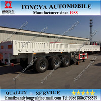 Quality drop side wall semi trailer/container load side door semi trailer