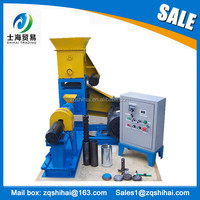 Trade assurance CE approved floating fish feed pellet machine