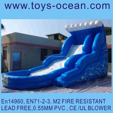 18ft inflatable water slide /inflatable screamer water slide/giant inflatable water slide for sale