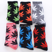 cheap weed leaf socks dozen