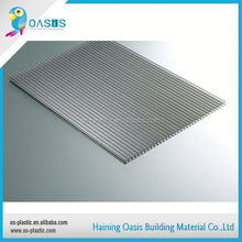 Sample available factory directly plastic sheet light diffuse lexan hollow polycarbonate sheet for solar panel
