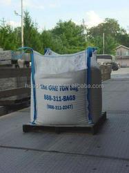 100% raw material 1000kg bulk sand bag/ventilated bulk bag