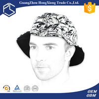 Multi color 100% cotton Outdoor travel anti-sunshine print bucket hat