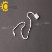 (SJ-H74)Plastic pure-white hang tag string for garments