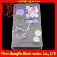 virgin hair Fiber Optic flashing rose hair light up LED rose hair glow in the dark