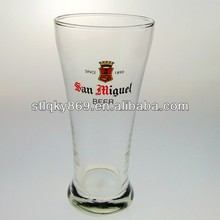 lyT031 Hot Sale Eco-friendly 400ml Promotional Beer Cup San Miguel Beer