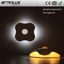 LED Night Light White Automatic Auto Sensor CE Listed NEW LED automotive light with light/PIR sensor both