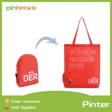 Promotional woman shoulder bag,recycled shopping bag