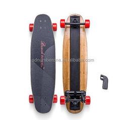Wholesales Electric Longboard Skateboard dual motor cheap skateboard with remote