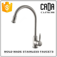 Quality hot sell single handle kitchen stainless steel faucet logos