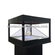 4 sides Hologram 3D display/hologram 3D showcase/holo box for new product launch