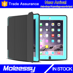 2015 hot selling high scratch resistant tablet case for ipad 2/3/4 retro book wallet leather case
