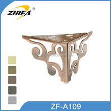 ZHIFA ZF-A109 new design chrome furniture sofa legs round couch chair legs cheap sofas legs