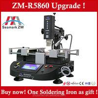 Good news ! infrared BGA Rework Station ZM-R5860 Upgrade ! Can connect Soldering Iron, Heat gun and BGA welding machine