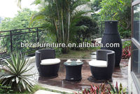 Modern style! outdoor rattan furniure, garden sofas without arm, outdoor cafe set
