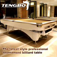 The latest style professional tournament fancy billiard games pool table