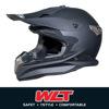 New style double helmet WLT-188 Mat BLACK