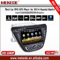 MTK3360NCG 800MHZ CPU Car tape recorder Player for Hyundai Elantra 2014 with BT Radio ipod 1080p video support Wifi 3G