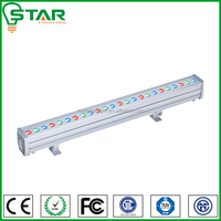 waterproof outdoor linear 1000mm ip65 rgb 36x1w led wall washer