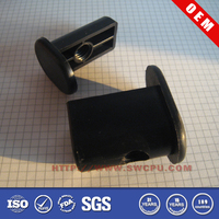 Customized black Plastic Stoppers