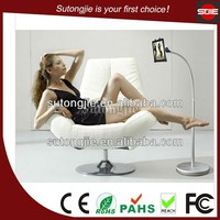 2015 New Metal Tablet Floor Stand Long Arm Rotate Tablet PC Floor Stand for iPad4/Kindle/Galaxy Tab