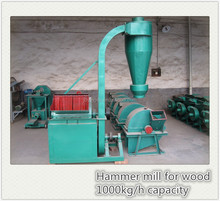 Hammer Mill for wood use for wood pellets production with capacity 1000kg per hour