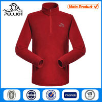 Men hoodie hunting fleece jacket