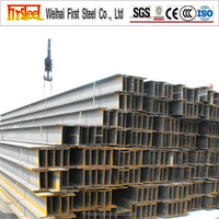 Factory produce hot rolled steel harga besi h beam
